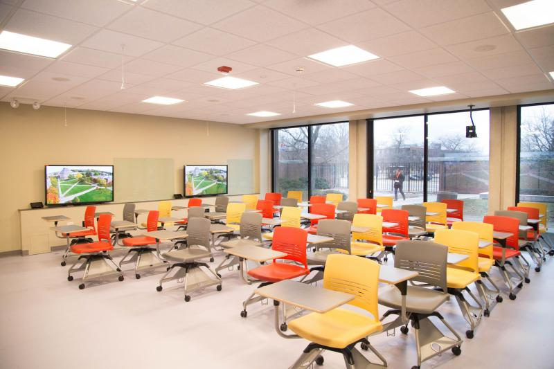 Active Learning Classroom - Seating